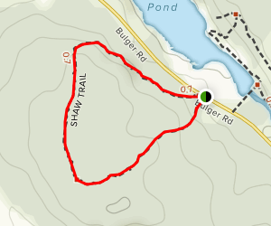 Shaw Woods Trail Map