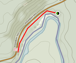 Middle Falls Map