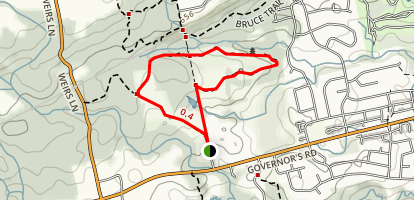 McCormack Trail Map