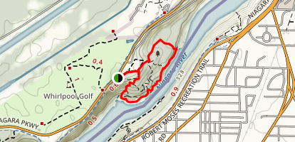 Niagara Glen Trail Map