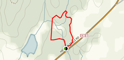Baird Trail - Munro Loop Map