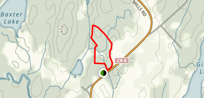 Baird Trail - Valley Ridge Loop Map