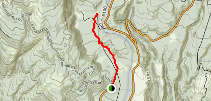 Ape Cave Trail Map