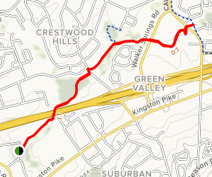 Ten Mile Creek Greenway Map