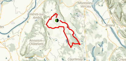 Three Ponds Loop Trail Map
