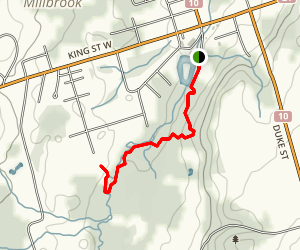Baxter Creek Trail Map
