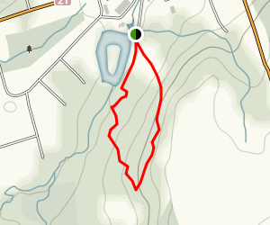 Medds Mountain Trail Map