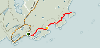 Finley Point Trail Map