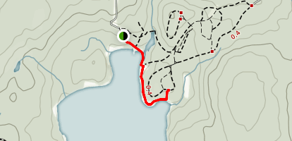 Dollar Lake Trail Map