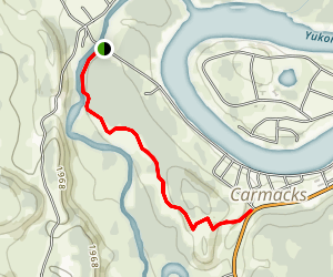 Carmacks Ridge Trail Map