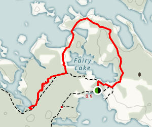 Fairy Trail Map