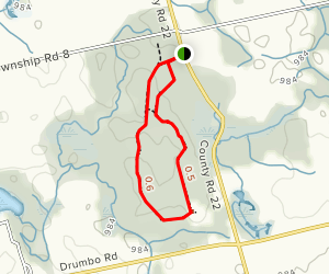 Chesney Wilderness Area Trail  Map