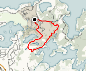 Laurentian University Walking & Cross-Country Trails Map