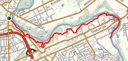 Walter Bean Trail Map