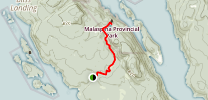 Malaspina Trail Map