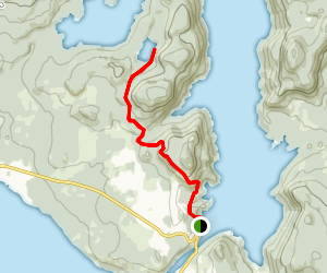 Sunshine Coast to Little Sliammon Lake  Map