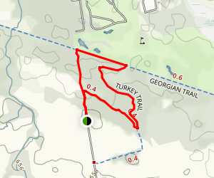 Eleventh Line Loop Trail Map