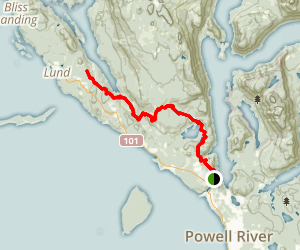 Sunshine Coast Trail Map