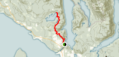 Sunshine Coast Trail to Sliammon Lake Trail Map