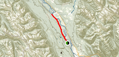 Columbia Trail Map