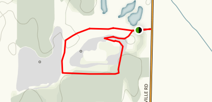Marthaville Habitat Management Area Trail Map