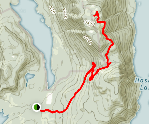 Mount Mahoney Trail Map