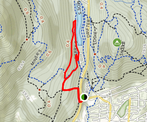 Larry's Loop Trail Map