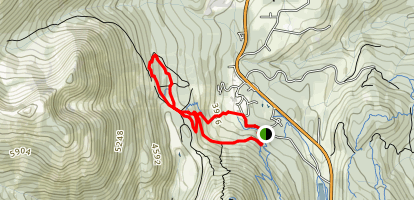 Paydirt Loop Trail Map