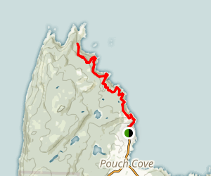 Biscan Cove Path Map