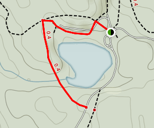 Mayflower Lake Trail Map