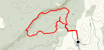 Silent Valley Trail Map
