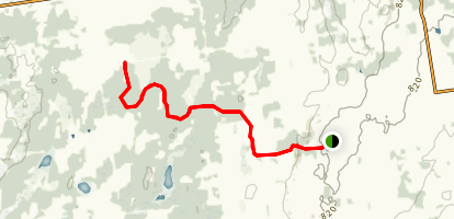 Spey River Forest Side Trail Map