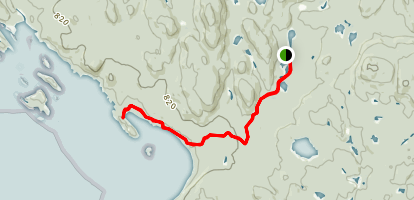 Gargantua Road Trail Map