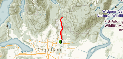 Coquitlam River Trail Map