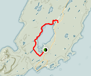 Marie Louise Lake Trail Map