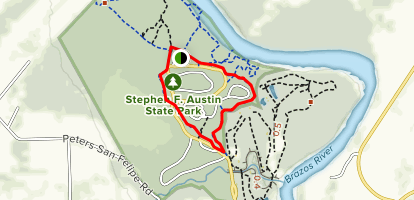 Ironwood and Pileated Trail Loop Map