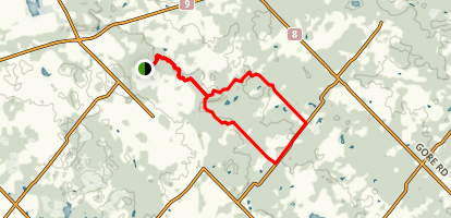 Glen Haffy Loop Trail Map
