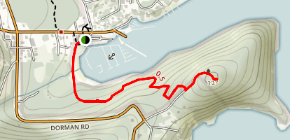 Dorman Point Trail Map