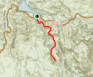 Boulder Canyon Trail Map