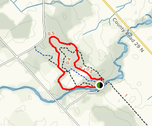 Mill of Kintail Forest Loop Map