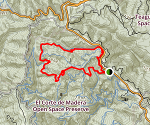 El Corte de Madera Creek - Resolution Trail Map