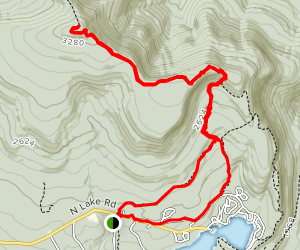 North Point & North Mountain Ledge to Stoppel Point Map