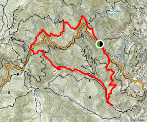 Matt Davis Trail to Bootjack Trail Loop  Map
