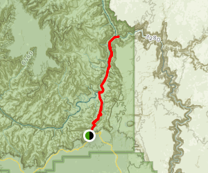 Tanner Trail to the Beamer Trail Map
