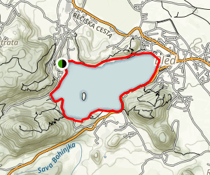 Lake Bled Trail Map