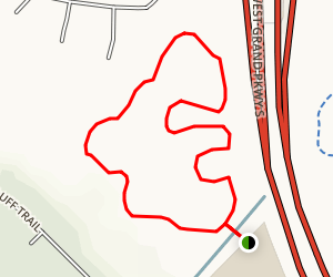 Willow Fork Park Trail Loop Map