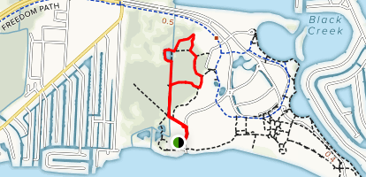 Marsh Forest and Meadow Loop Map