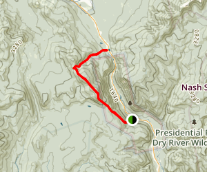 Willey Range Trail (Northbound) Map