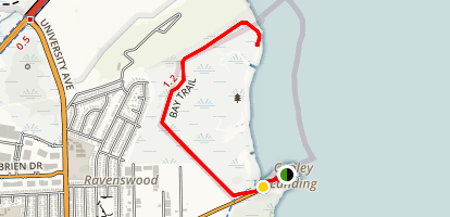 Cooley Landing Via Bay Trail Map