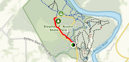 Pileated Trail Map